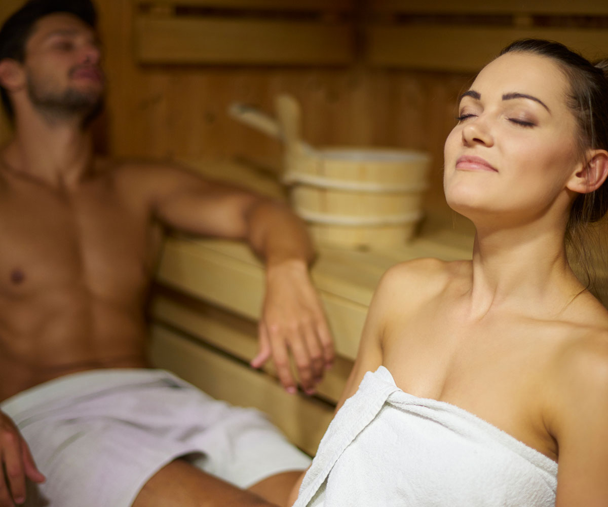 Work It Out: Lose Weight or Gain Muscle with a Sauna