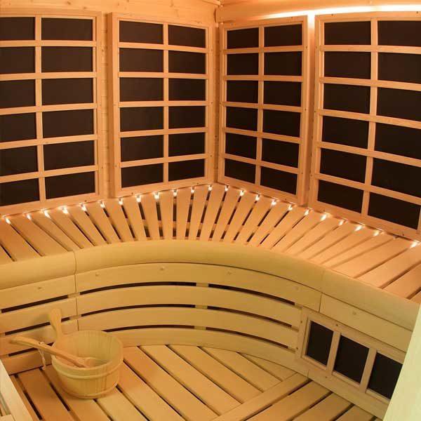 Finnleo Custom Cut Infrared Sauna