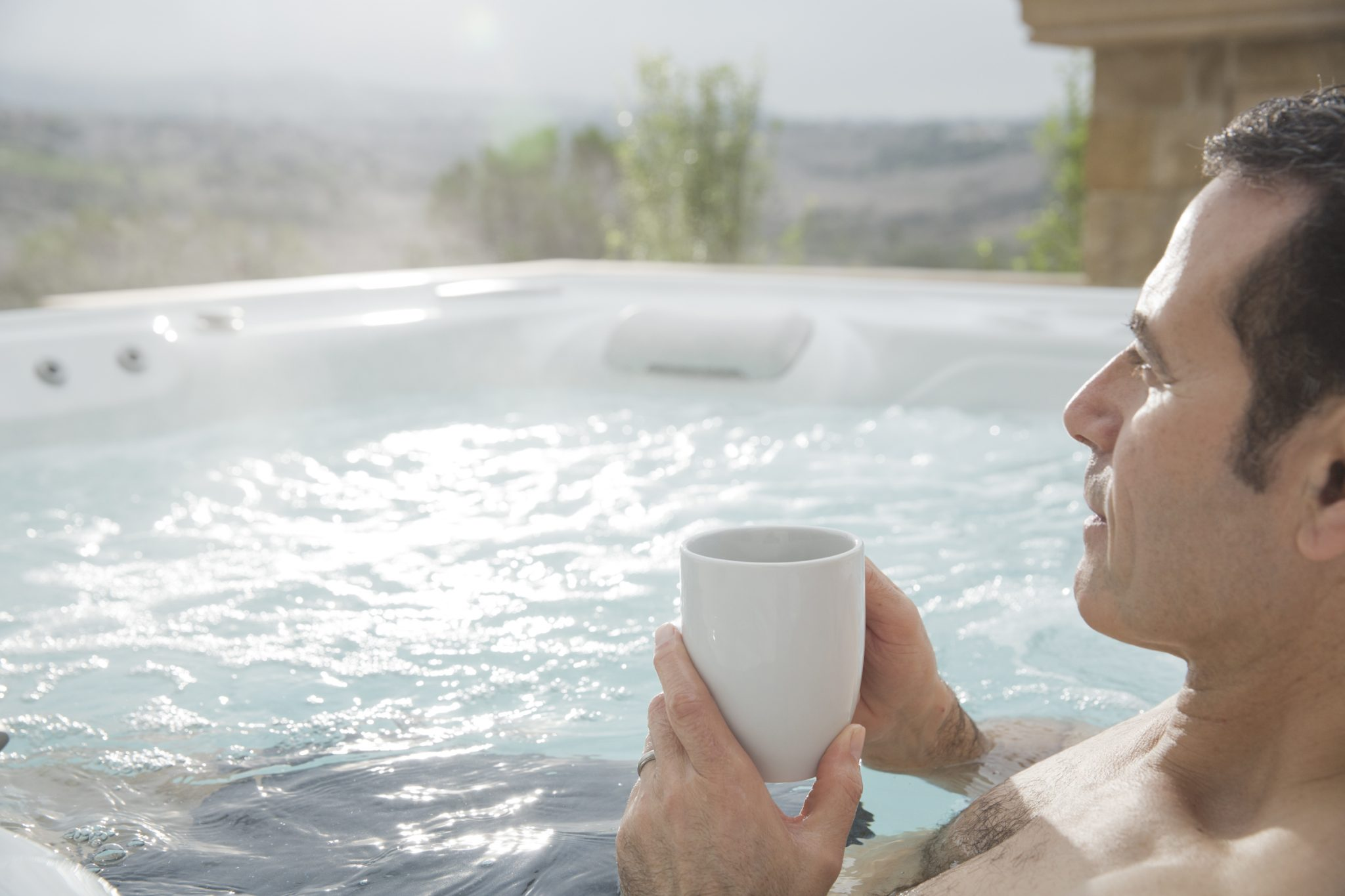 Check out these safety tips for winter hot tub fun!