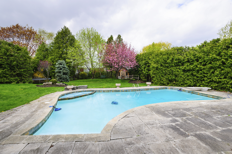 Check out these pool landscaping tips and ideas.