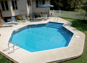Check out these tips for building a custom pool in a small backyard.