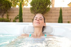 Regina Pools & Spas Hot Spring hot tubs wellness snack stress relief