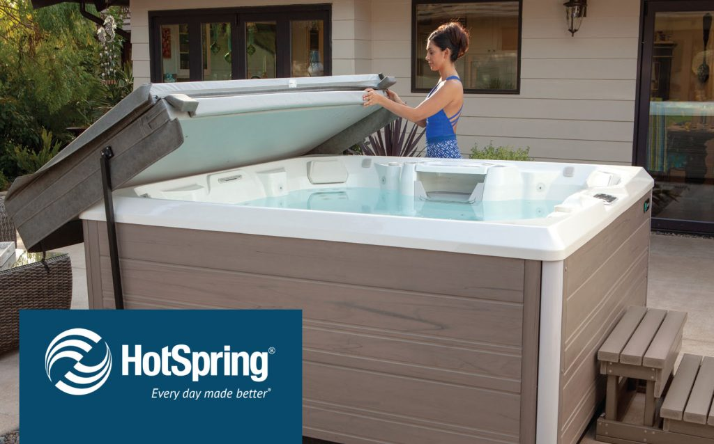 Hot Spring hot tubs at regina pools and spas timonium maryland limelight pulse