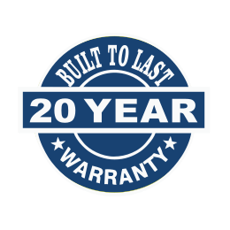 20-year warranty