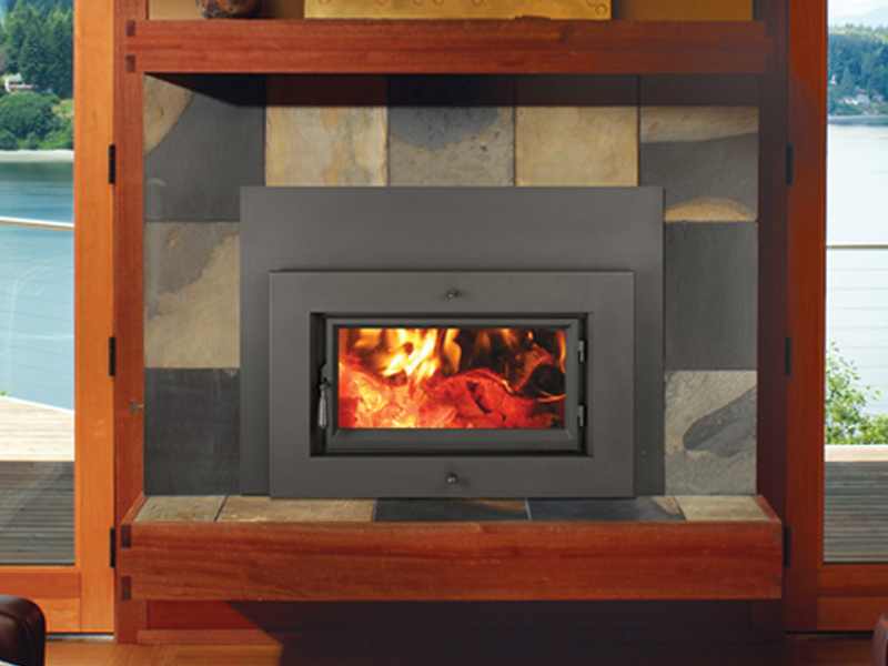 Fireplace X Flush Wood Plus Rectangular Salida Stove