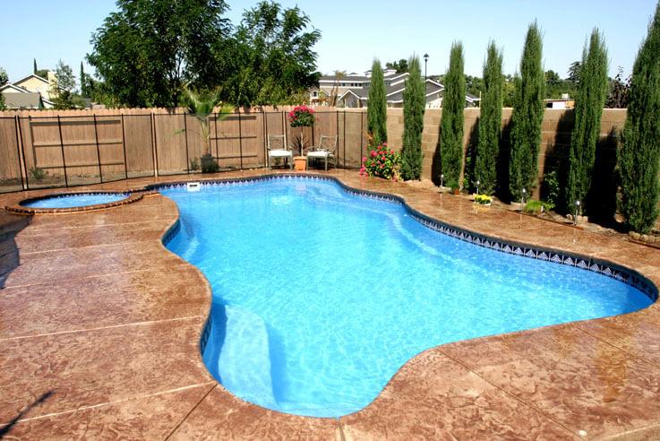 Viking Free Form Pools Sandollar Spa And Pool