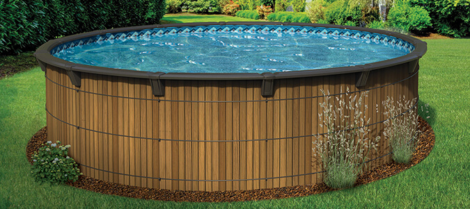 AquaWood Pools Family Image