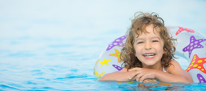 Pool Safety Tips Family Image