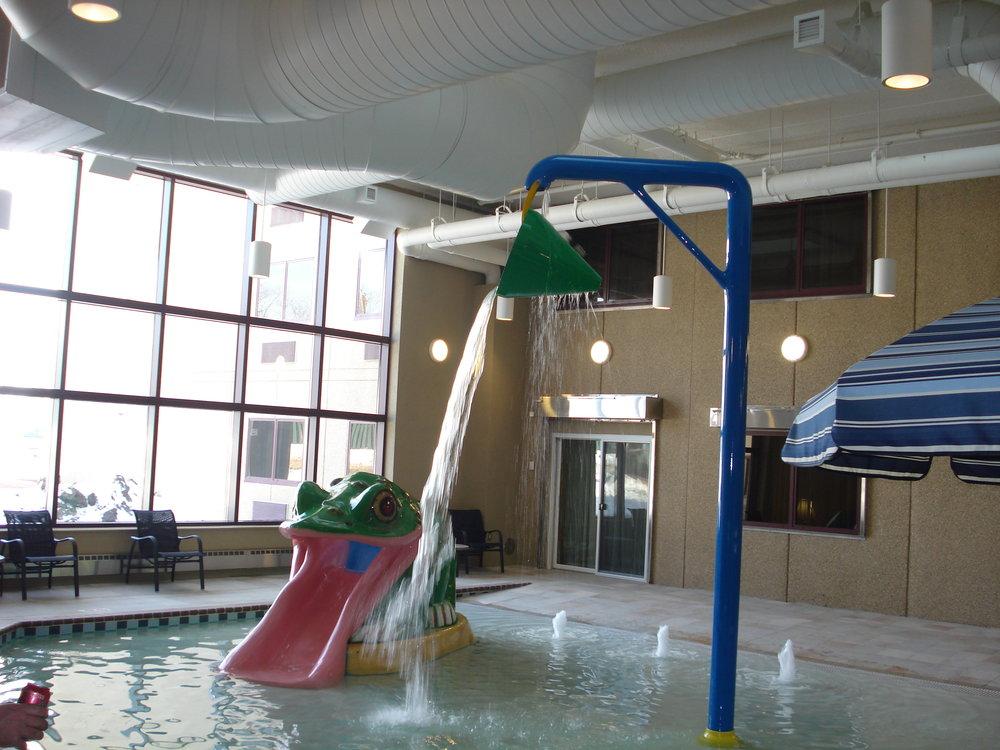 Sawatzky   Commercial Pool Frog & Bucket