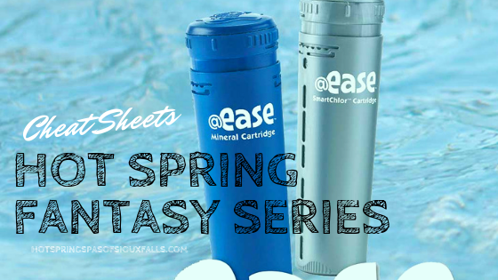 @Ease Cheat Sheets for Fantasy Spas