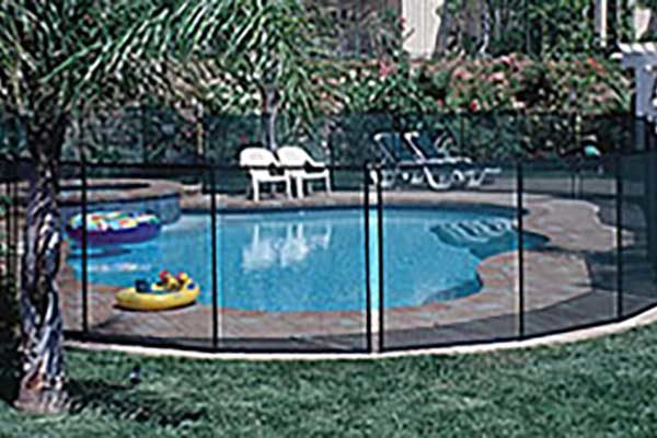 Protect-A-Pool Inground Saftey Fence