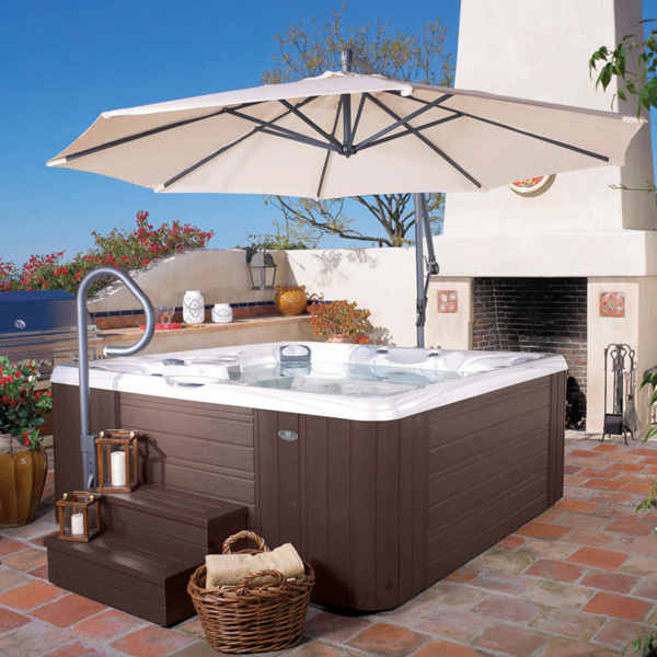 Hot Tub and Swim Spa Service Family Image
