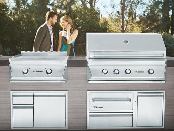 Built-In Premium Grills Family Image