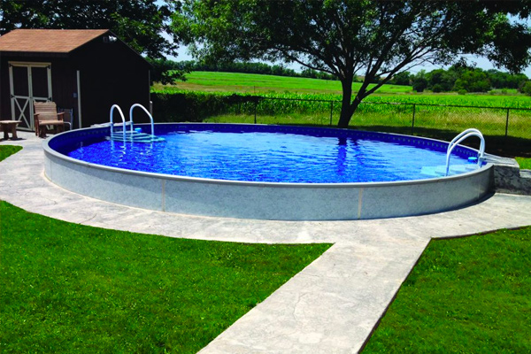 Radiant Pools Brochures Family Image