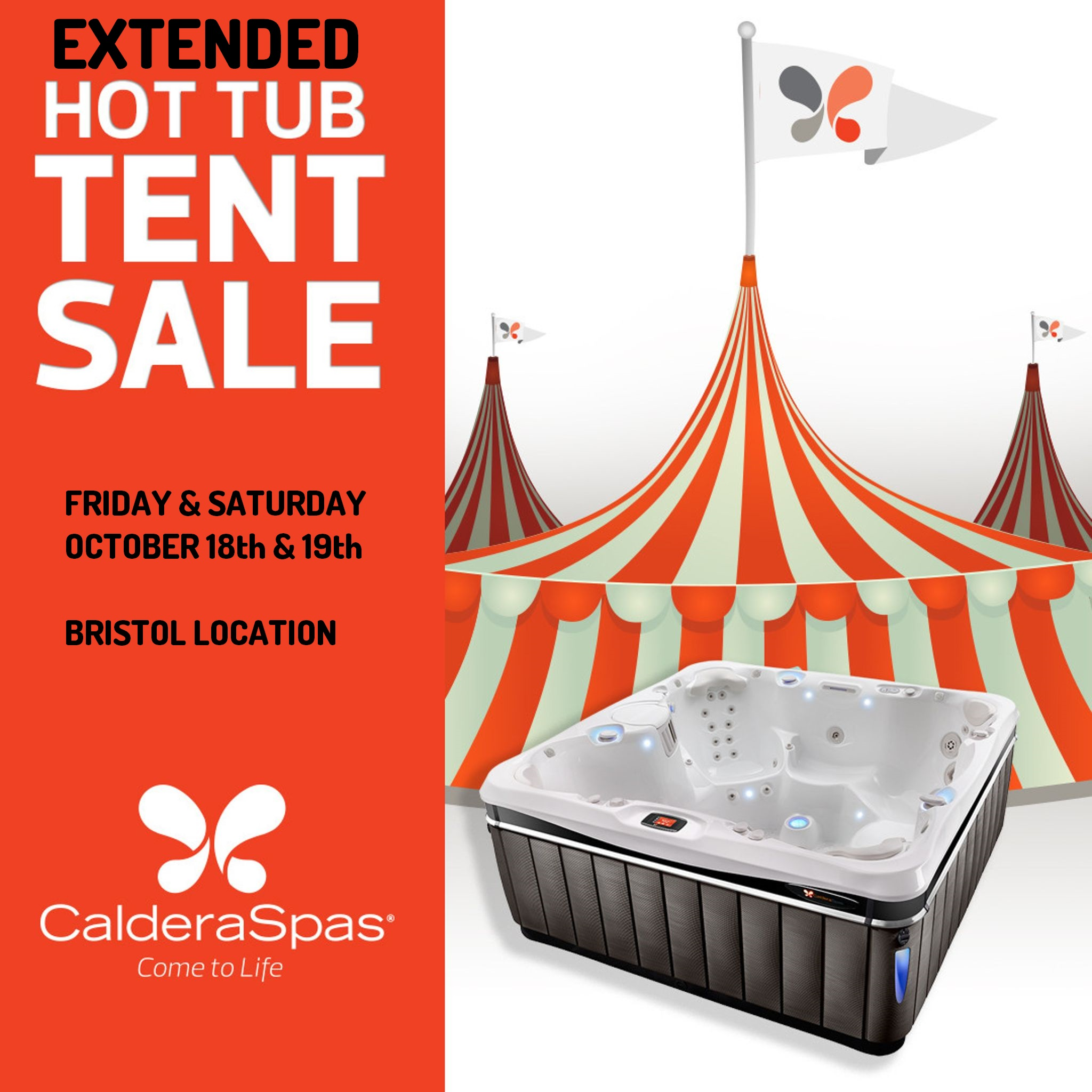 Hot Tub Tent Sale – EXTENDED!