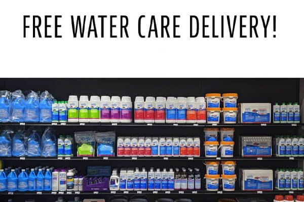 Water Care Delivery Family Image