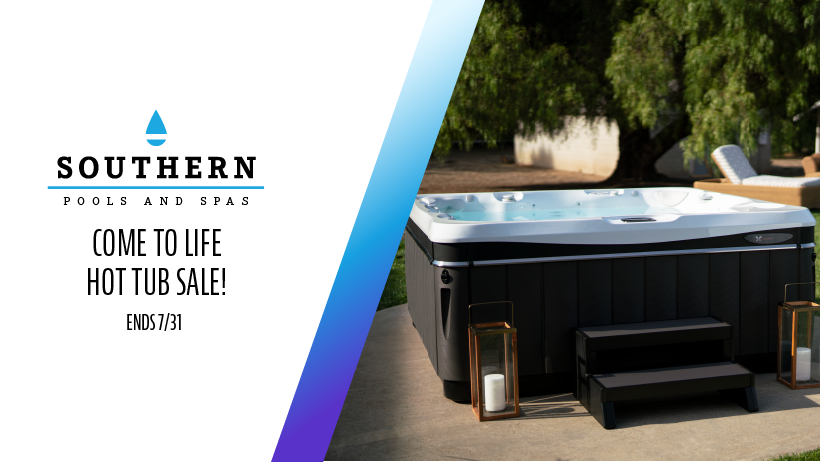 Come To Life Hot Tub Sale!