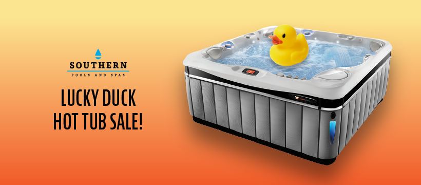 Lucky Duck Hot Tub Sale!
