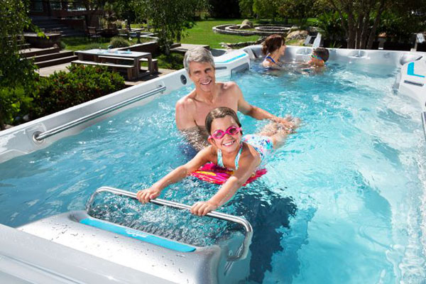 Endless Pools Fitness Brochures Family Image