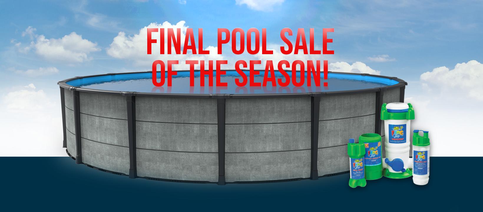 Pool Sale!