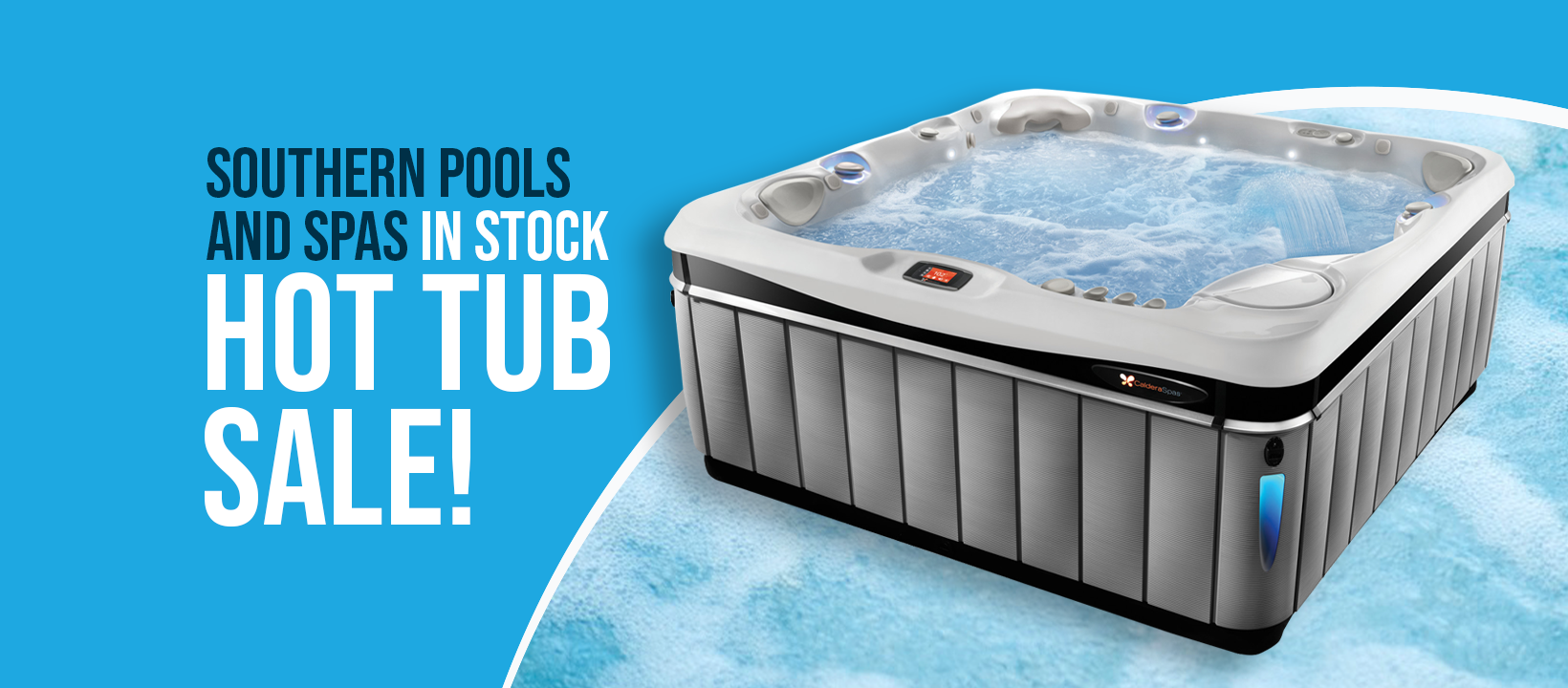 In Stock Hot Tub Sale!