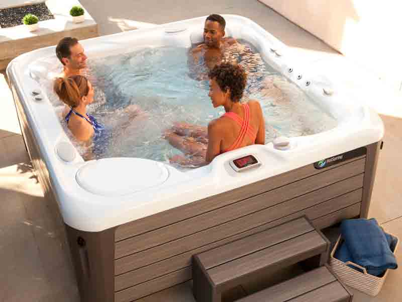 Get Hot Tub & Swim Spa Pricing Family Image