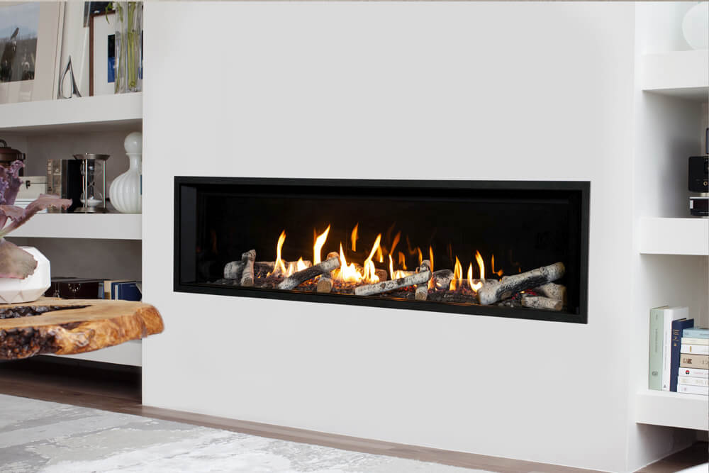 Valor Gas Fireplaces Family Image
