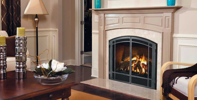 Mendota® Gas Fireplaces Family Image