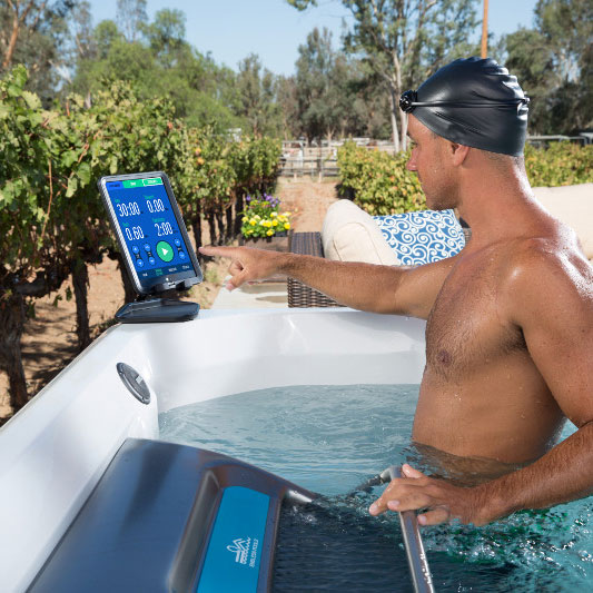 Endless Pools Fit@Home™ Wifi and Mobile App