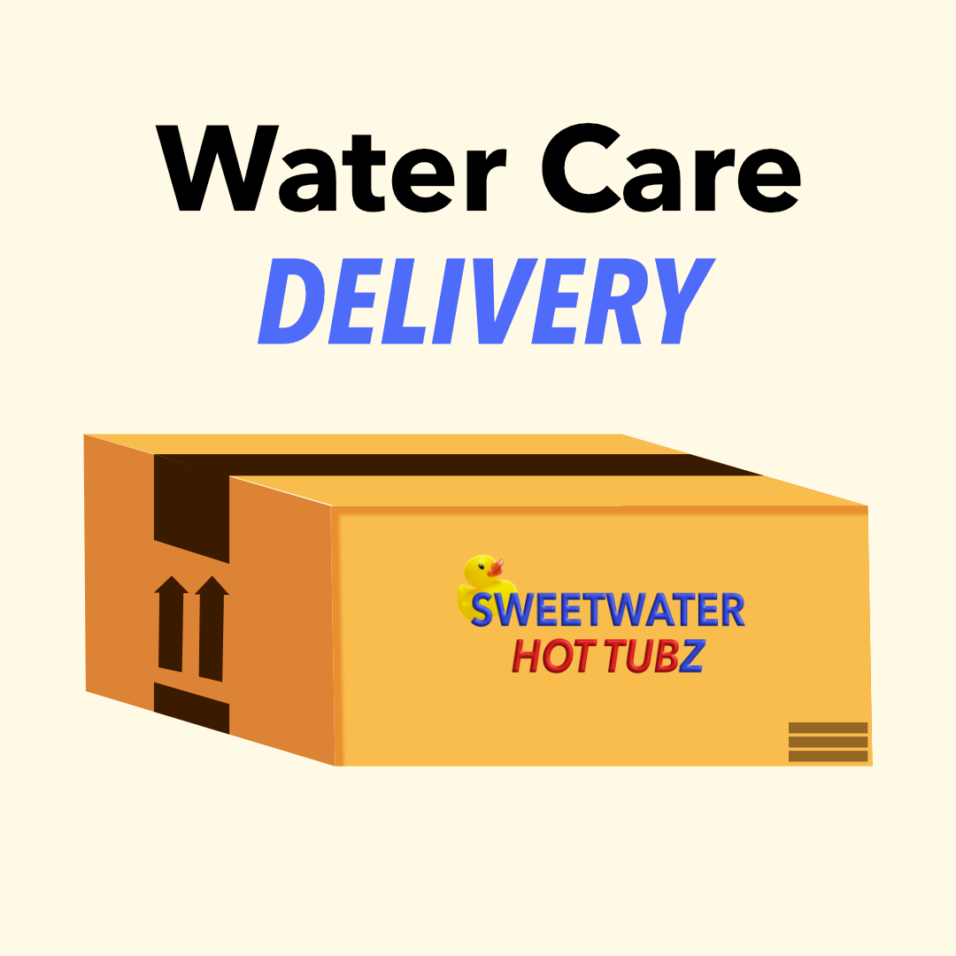 water care and spa parts delivery in San Antonio, Texas by Sweetwater Hot Tubz