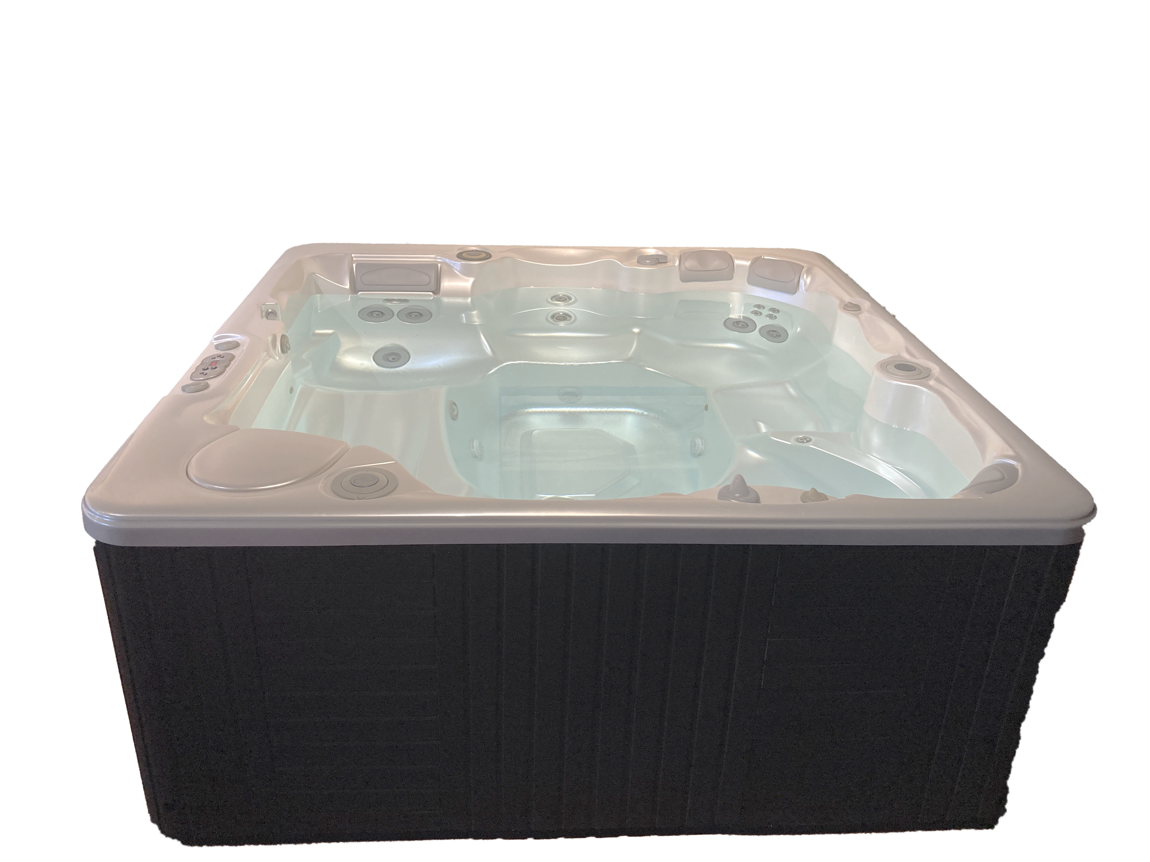 Caldera Pre-Owned, Refurbished Hot Tub w/ Pearl White Shell for sale