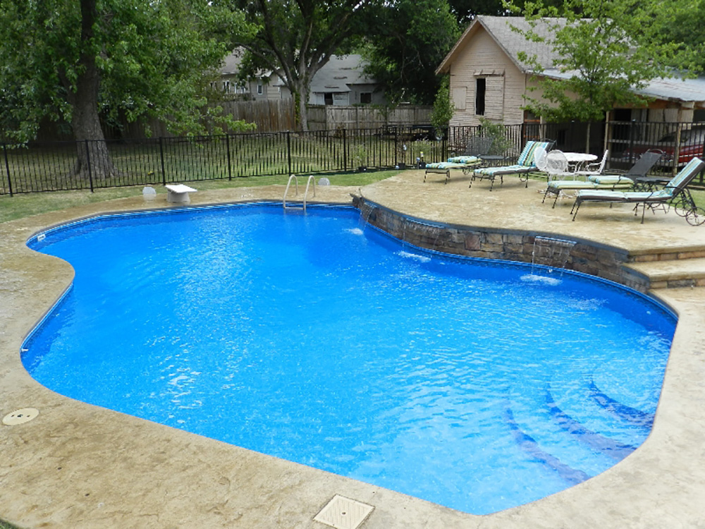 Graphex Walls Pool Tampa Bay Hot Tubs