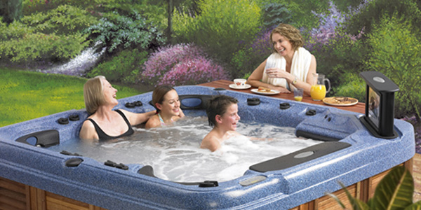 Catalina Spas Family Image