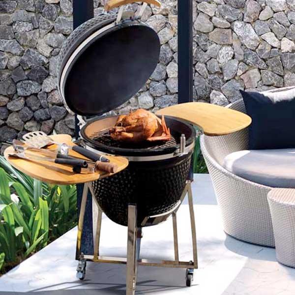 Kamado Smoker Grill Family Image