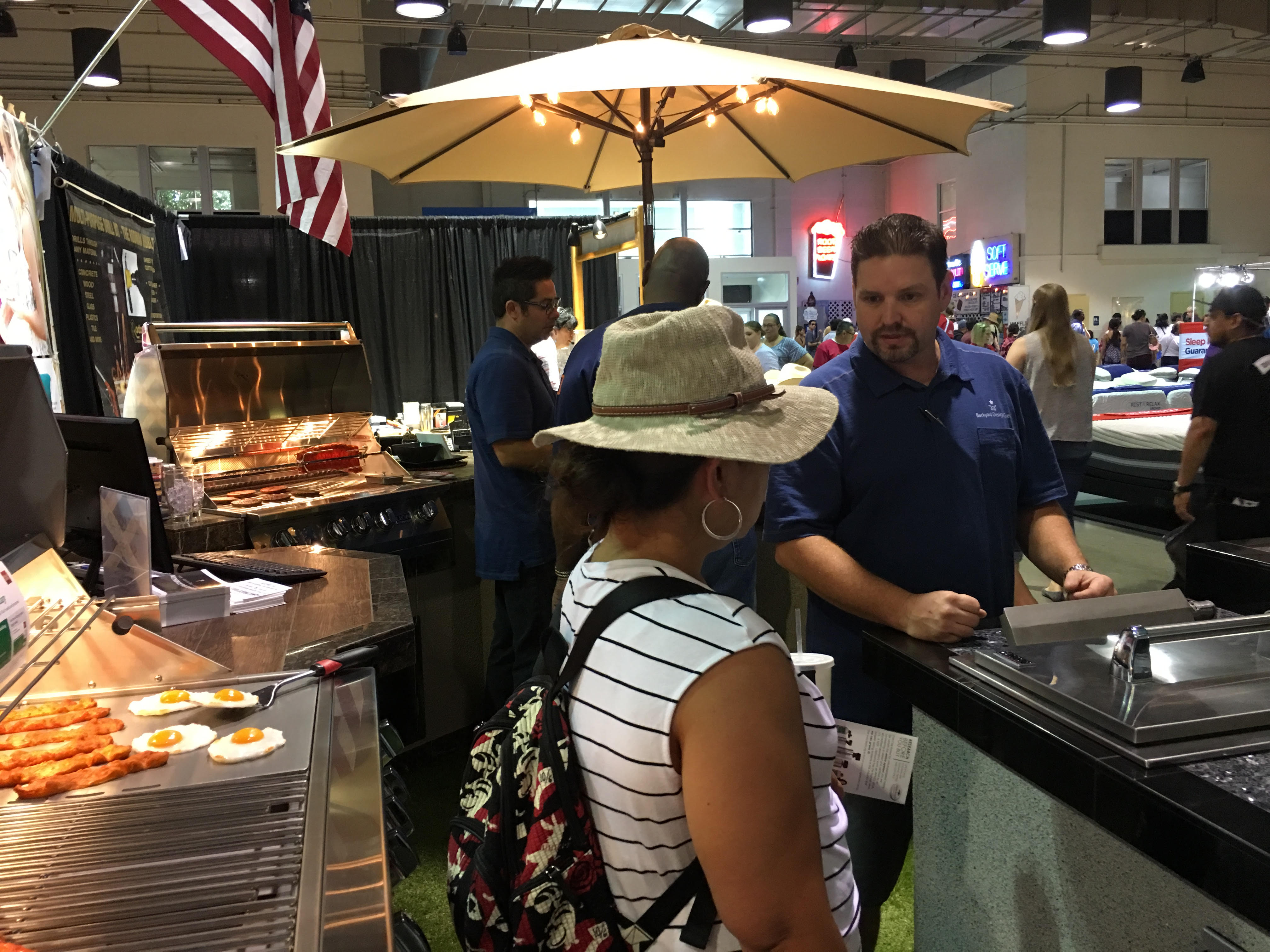 Great Deals on BBQ Islands, Grills, Spas & Swim Spas at the LA County Fair!