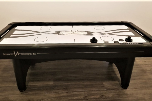 Brunswick Air Hockey Family Image