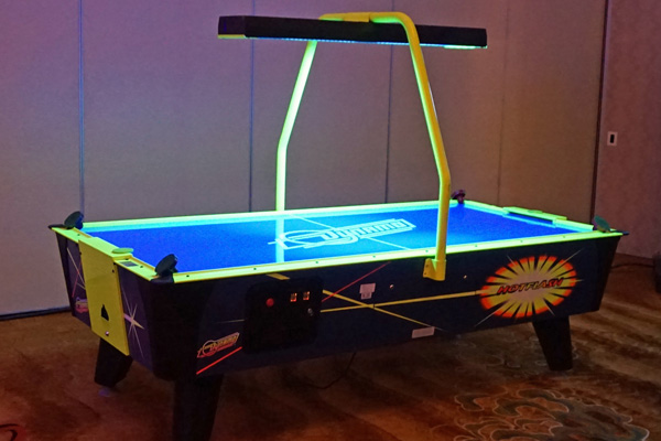Dynamo Air Hockey Family Image