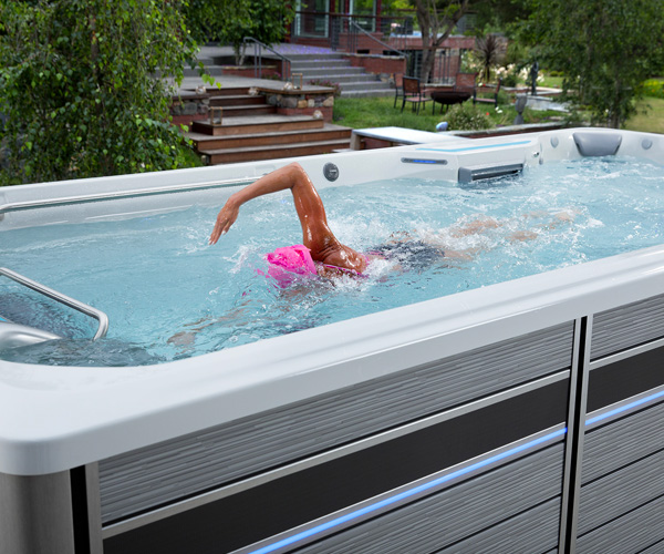 Request Swim Spa Pricing Family Image