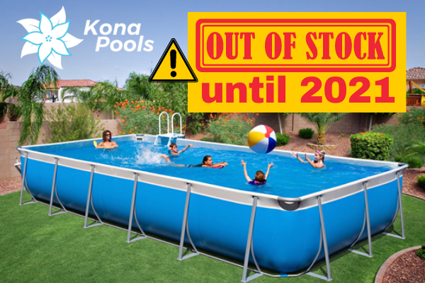 Kona Above Ground Pools Family Image
