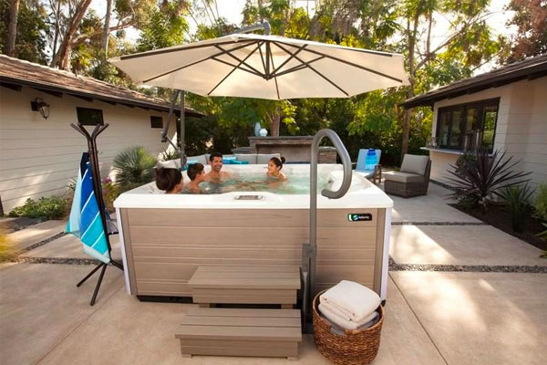 Hot Spring Water Care Systems Family Image