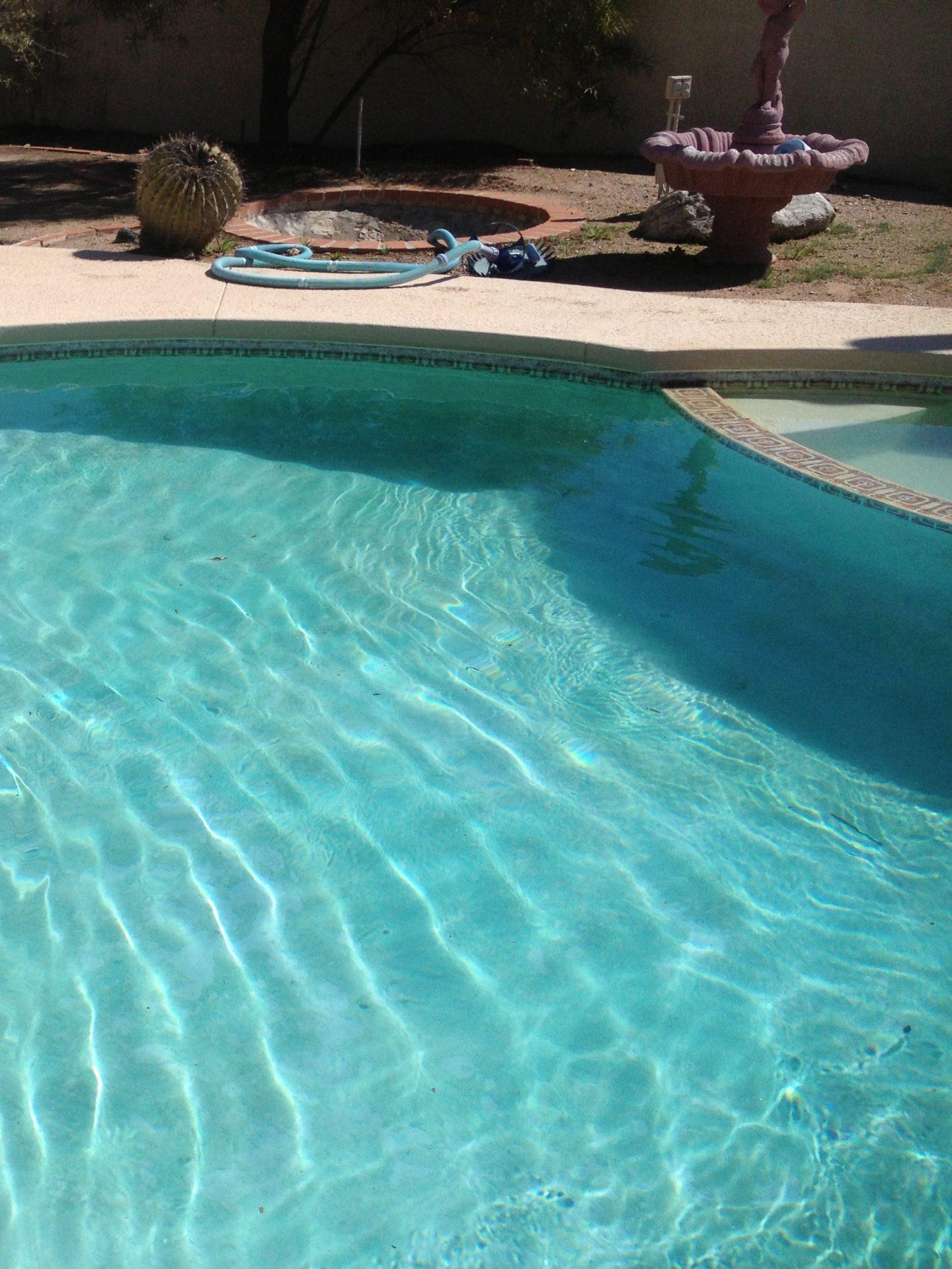 Acid wash pool service Tucson