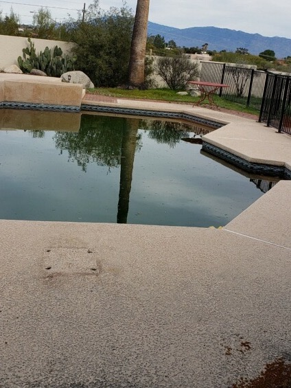 Pool surface service in Tucson