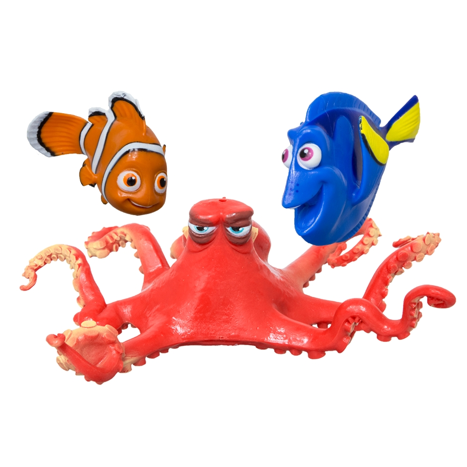 Fish and Squid Pool Toys