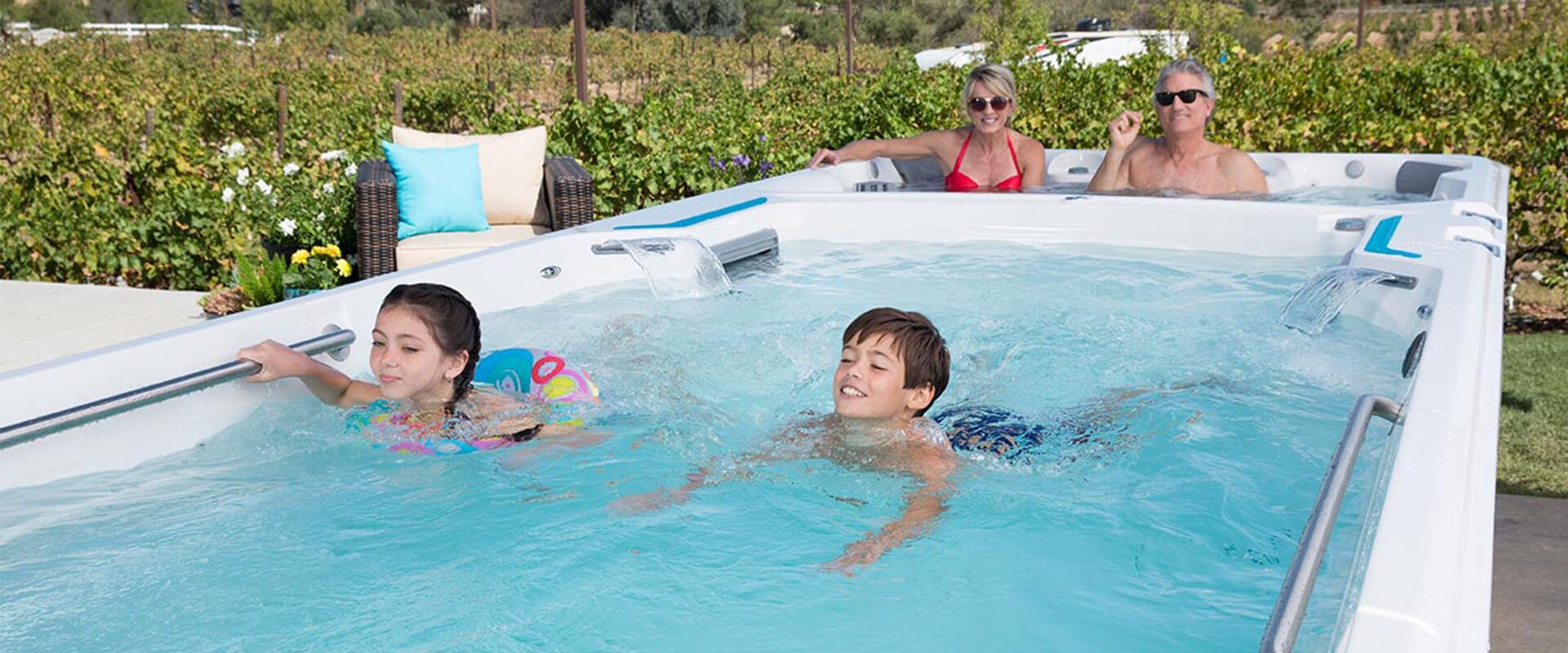 Endless Pools Aquatic Fitness Exercises