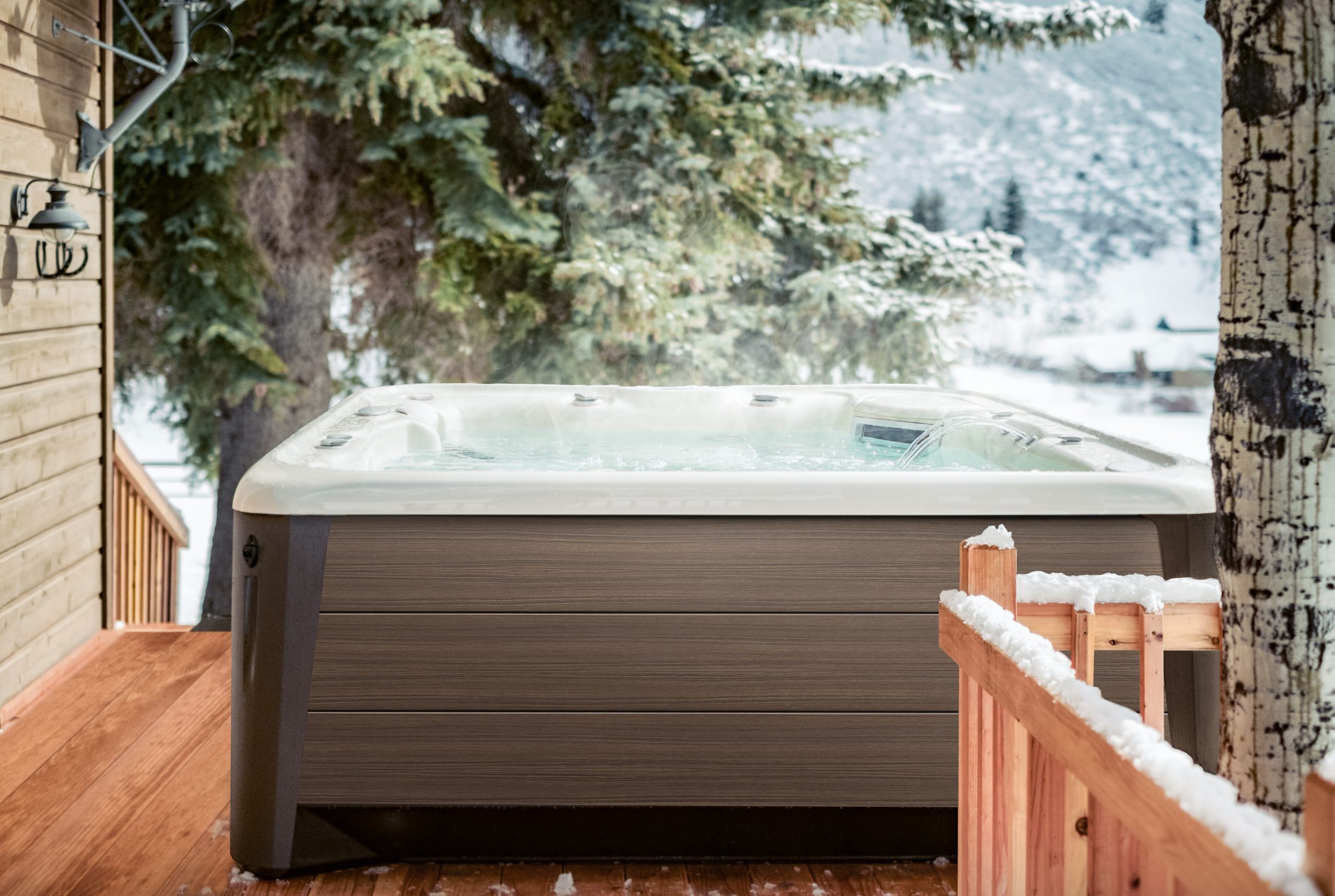 How To Beat The Winter Blues With A Hot Tub
