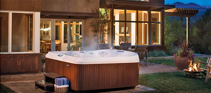 Jacuzzi® Hot Tubs Family Image