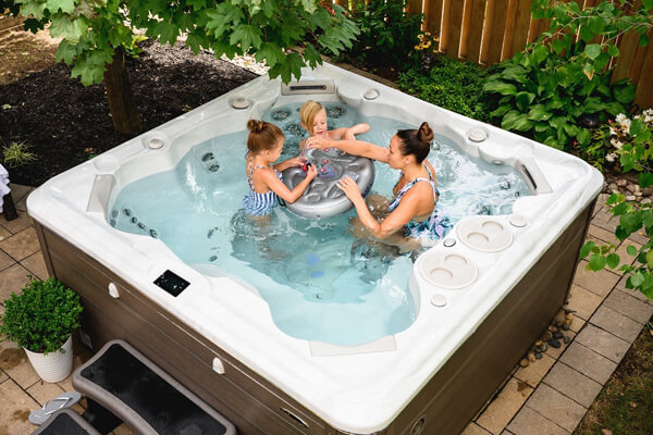 Hydropool Hot Tubs Family Image