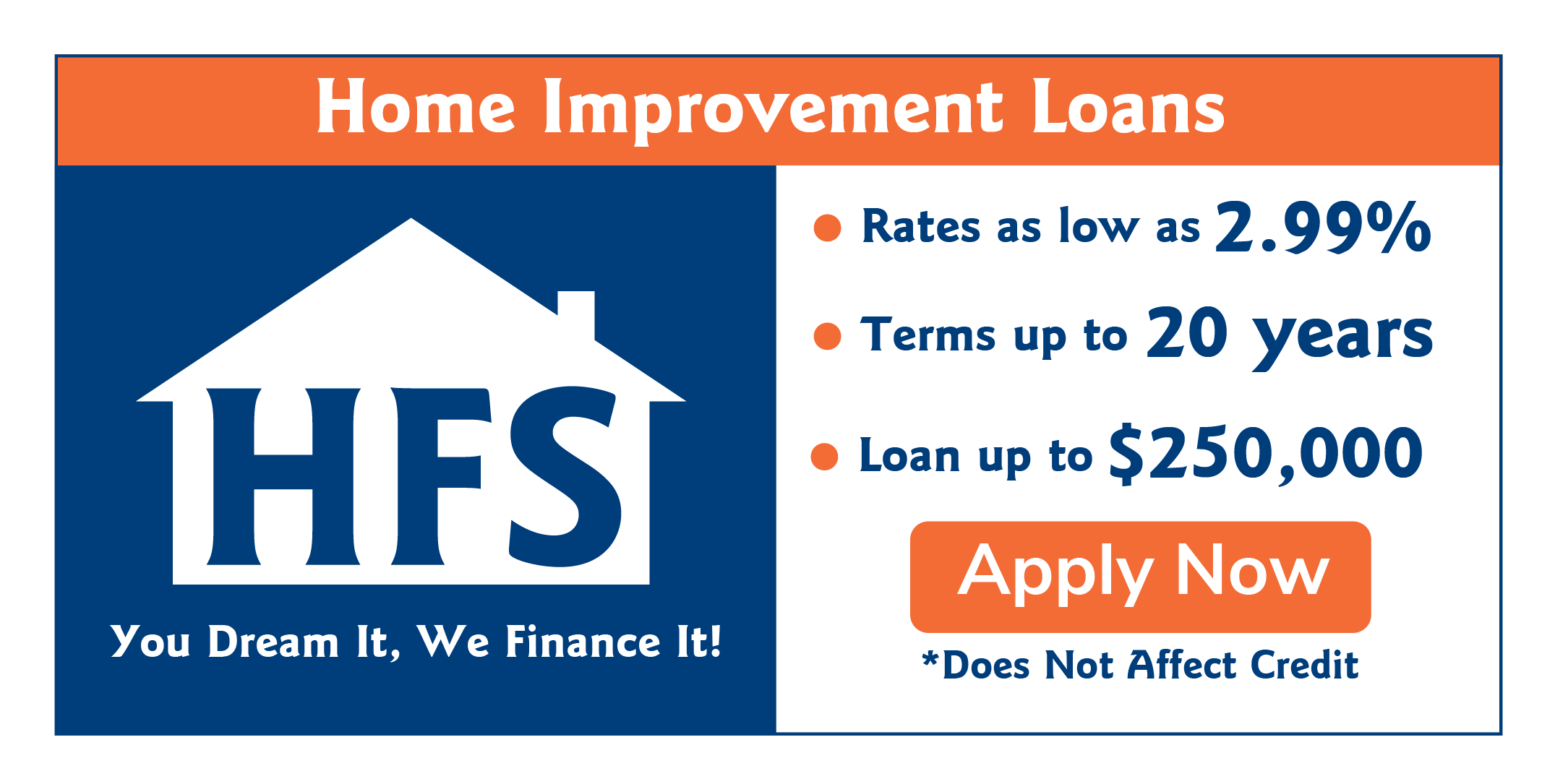 HFS Home Improvement Loan