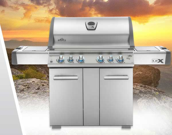 LEX Gas Grills Family Image