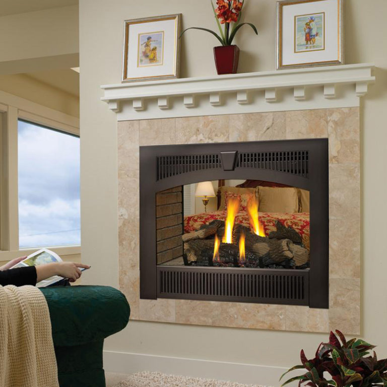 864 See-Thru Gas Fireplace Product Image